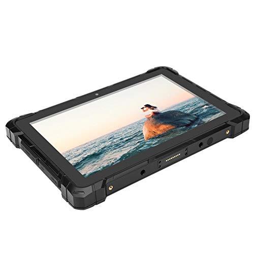 ASHATA F7 Tableta de 10.1 Pulgadas, Tableta de Grado Industrial (4 + 64G), Tableta Impermeable, Fuerte y Duradera (Material de ABS),...