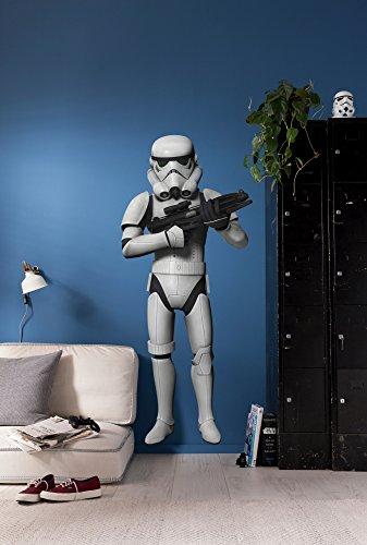 Komar Star Wars Deco-Sticker STORMTROOPER | 100 x 70 cm | Wandtattoo, Wandsticker, Wandaufkleber, Wandbild, Sturmtruppler, Imperium, Kinderzimmer | 14722h