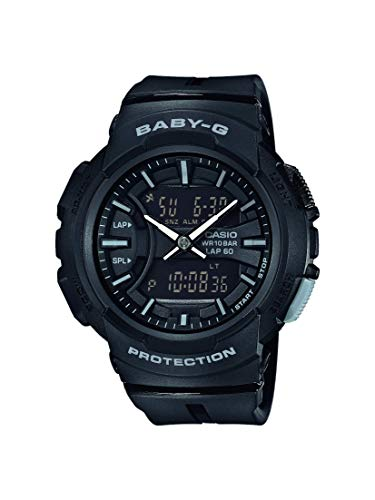 BABY-G Damen Analog-Digital Quarz Uhr mit Harz Armband BGA-240BC-1AER