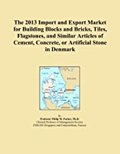 The 2013 Import and Export Market for Building Blocks and Bricks, Tiles, Flagstones, and Similar Articles of Cement, Concrete, or Artificial Stone in Denmark