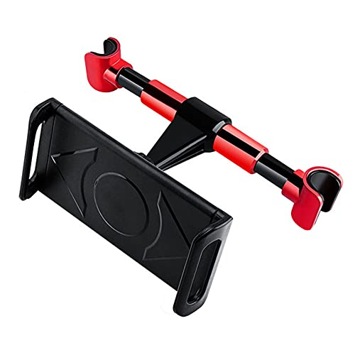 Universal Headrest Mount Extend Tablets Phone Support Bracket Auto Car Cell Phone Holder-Red_A
