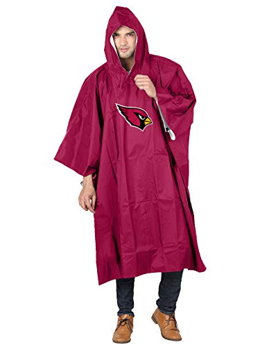 The Northwest Company NFL Arizona Cardinals Deluxe Poncho, 44