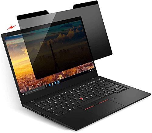 KONEE Magnetic Privacy Filter | Notebook Privacy Screen Filter für 14.0 Zoll Laptop | Magnetischer Sichtschutz, Laptop Blickschutzfilter – 14.0 Zoll 16:9