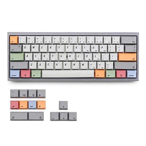 Honana Tastenkappen XDA Profil Sublimation PBT 75 Tasten mechanische Tastatur Keycap für 61/64/68 Tasten Keyboards