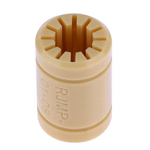 ForU-1 2 stks 8mm as RJ4JP-01-08 Effen Polymeer LM8UU lagers voor 3D-printer