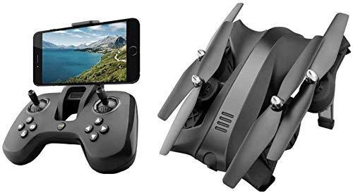 720p HD de Gran Angular HD Cámara HD Folleable WiFi FPV Drone 2.4GHz Six Gyro Mini Drone con 4 Canales Adecuado for niños y Principiantes Grande CUMPURBA Regalo ZDWN