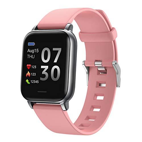 Nuevo S50 1.3 Pulgadas Smart Watch Men's Full Touch Fitness Tracker Presión Sanguínea Smart Relk Ladies Smart Watch,D