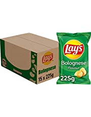 Lay's Chips Bolognese, Doos 15 stuks x 225 g