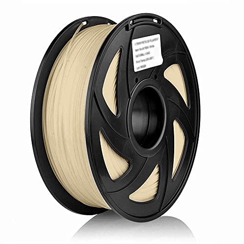 S SIENOC 1Kg PLA 1,75mm 3D Printer Filamento Spool 3D Materiale di stampa per stampanti (PLA Legno)