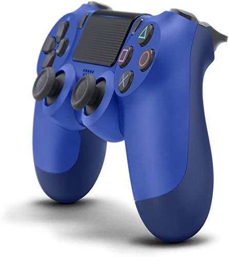 Controlador Ps4 para Playstation inalámbrica Dual Shock 4 Pro Juego de Bluetooth y controlador de PC, Controlador inalámbrico profesional para jugadores Elite-Azul