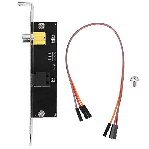 LiebeWH SPDIF OutPlate Kabelhalterung, Halterung für ASUS Motherboard Optische Elektrische Komponenten für ASUS/GIGABYTE/MSI Motherboard