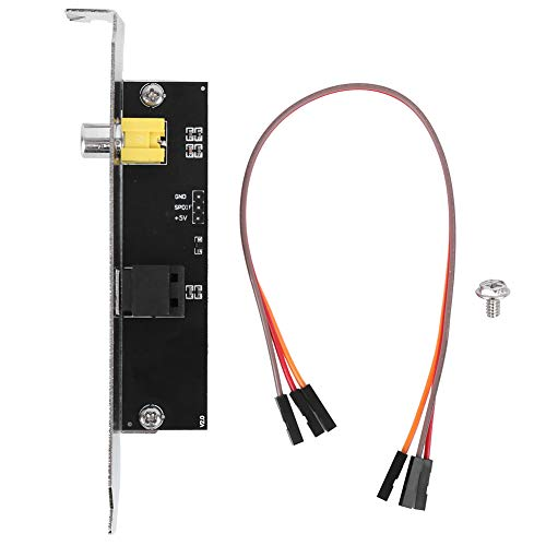Staffa Cavo SPDIF Outplate, Staffa per Scheda Madre ASUS Componenti Elettrici Ottici per Scheda Madre ASUS/GIGABYTE/MSI