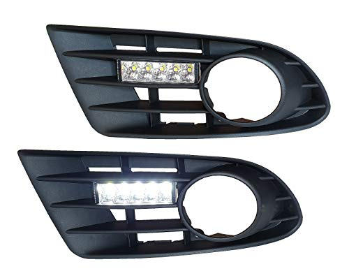 LED Tagfahrlicht inkl. Blende, Set, links rechts Tagfahrleuchten GOLF 5 PLUS 05-08