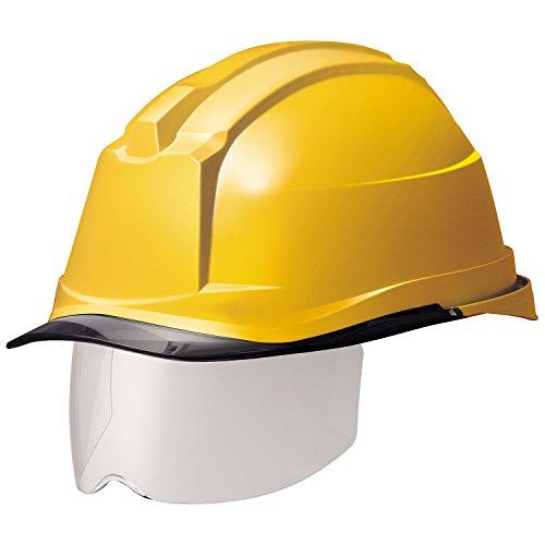 ミドリ安全 ヘルメット 一般作業用 電気作業用 スライダー面 SC19PCLS RA3 αライナー付 イエロー/スモーク