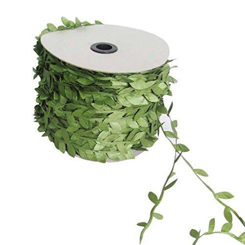 Seide Natur Künstliche Blatt Blätter Rebe DIY Kranz Gefälschte Blatt Hochzeit Dekoration 10 mt
