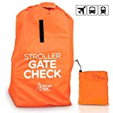 KangoKids Stroller Travel Bag -Protect Strollers from Dirt and Damage. Easy to Carry Stroller Bag for Airplane- with Handle and Adjustable Straps. Gate Check Bag for Airport Will ONLY fit H42 W19 D 1