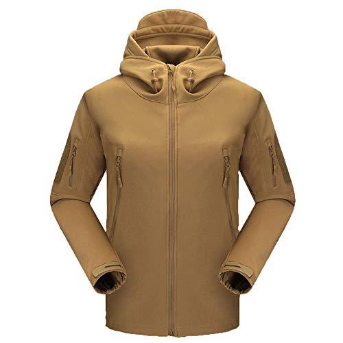 Tactical Plus Velvet Jacket Herren Softshell Jacken Wasserdicht Windbreaker Softshelljacken Outdoor Freizeitjacke H-M