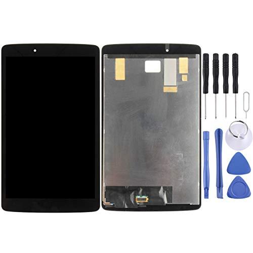 MDYHMC CLB Pantalla LCD y digitalizador Asamblea AYSMG Completa for LG G Pad 8.0 / V490 / V480 (Negro) (Color : Black)