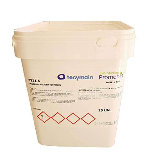 Clim Profesional Activador enzimático biológico de fosas sépticas y depuradoras. Pack 5 kg. Degradación de Materia orgánica, Grasas, detergentes y celulosa en arquetas o fosas sépticas