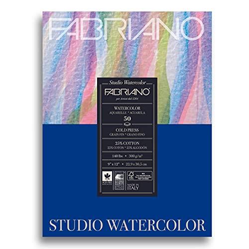 Savoir Faire Studio Paper Pad, 9 x 12 (140 lb), White