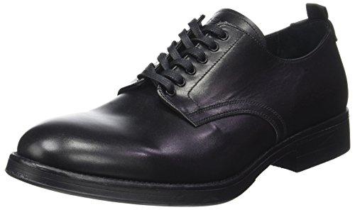 Redskins SAVARO, Zapatos de Cordones Derby Hombre, Negro, 39 EU