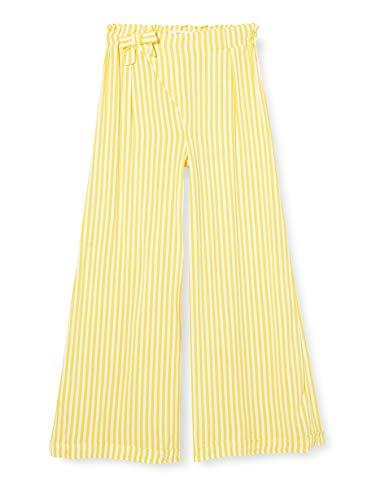 NAME IT Mädchen NKFFAYA Wide Pants Hose, Aspen Gold, 146