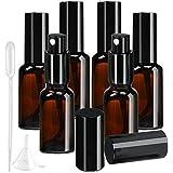 スプレーボトル アルコール対応 遮光 10本セット 30ml 茶色 ガラス 霧吹き スプレー 消毒 容器