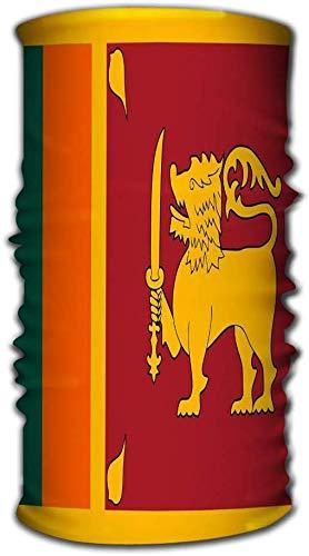 hdyefe Outdoor-Multifunktions-Kopfbedeckungen Sport Surfen Mann Sport Ocean Wave Magic Schal Flagge Sri Lanka Flagge Sri Lanka offiziell demokratischen sozialen