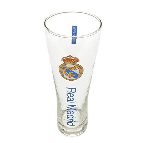 Vaso de cerveza alto, diseño del Real Madrid F.C, de la marca Real Madrid F.C.