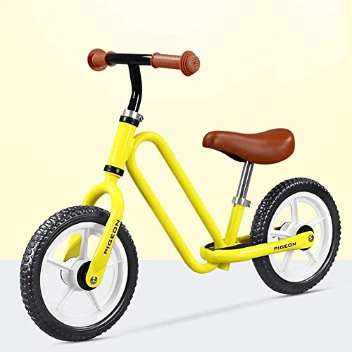 Bicicleta de Equilibrio Caminar Niños Bike Balance for las edades de 2 a 6 años sin pedal de bicicleta de entrenamiento for los niños y los niños Marco Ultra Light Metal, su hijo con confianza