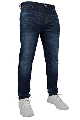 westAce New Mens Stretch Skinny Slim Fit Flex Jeans Pant Stretchable Denim...