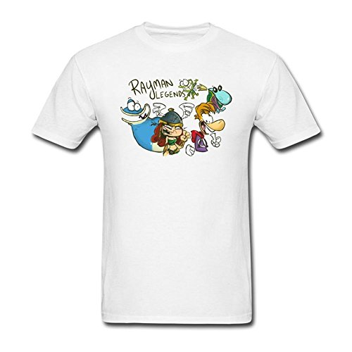 Kittyer Rayman Legends - Camiseta de algodón para Hombre