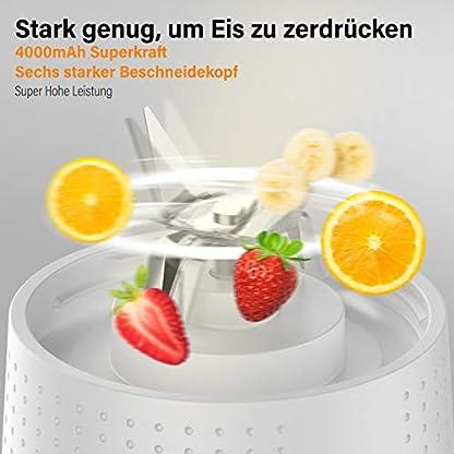2020-Neue-Version-SuperkraftLaHuko-Smoothie-MakerTragbarer-Mixer-Juice-BlenderStandmixer-380ml-Hochleistung-MixerUSB-WiederaufladbarIdeal-fr-Smoothie-Milkshake-ReiseFitness