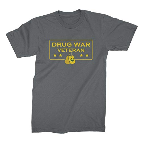 We Got Good Drug War Veteran Shirt Funny Weed Shirts Dark Heather