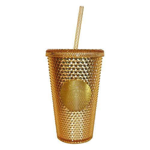 Starbucks® Cold Cup Bling Gold Edition Kaltgetränke Becher Gold Edition