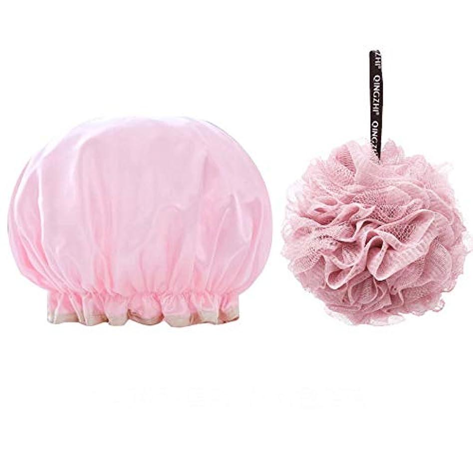意図する熟練した驚Butokal ボディースポンジ 泡立てネット 超柔軟 女 防水 シャワーキャップ 耐久性ボディウォッシュボール 柔らかい 背中も洗えるシャボンボール