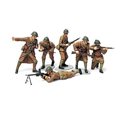 タミヤ 1/35 ミリタリーミニチュアシリーズ No.288 フランス陸軍 歩兵セット プラモデル 35288