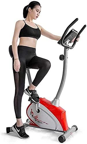 Sensori di frequenza cardiaca regolabili con cuoio regolabile bici a palette anziano con sedile con impulso con manubrio con 6 kg con 6 kg flywheel del volano 14-stadio formatore di formazione cardio