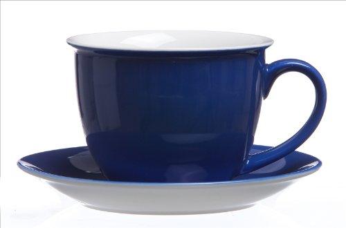 Jumbotassen - Set 12 tlg. Doppio indigo-blau