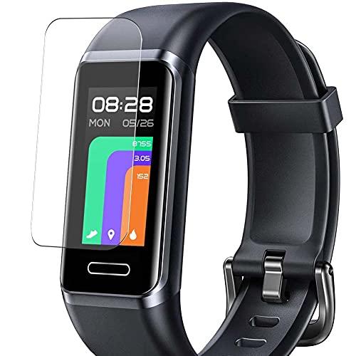 Vaxson 3 Stück Schutzfolie, kompatibel mit YAMAY GT BAND Fitness Tracker smartwatch, Displayschutzfolie TPU Folie [ nicht Panzerglas ]