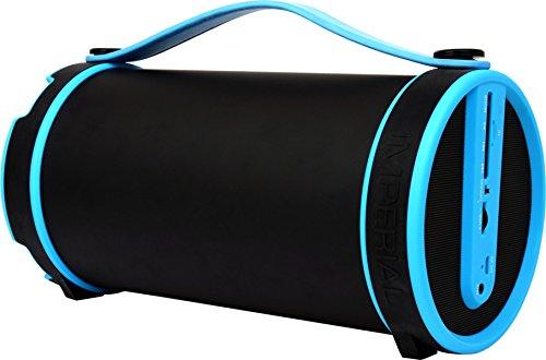 Imperial BEATSMAN Mobiler Bluetooth Lautsprecher mit UKW Radio (2.1 Lautsprecher, Bluetooth 2.1, UKW Radio, MicroSD Kartenleser) blau