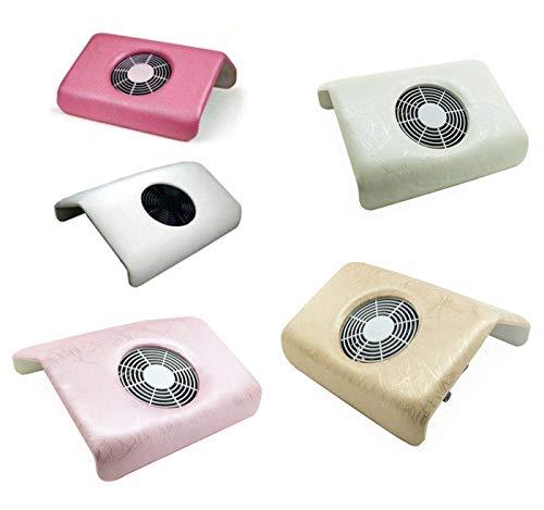Aspirador de mesa para el polvo de la manicura, rosa