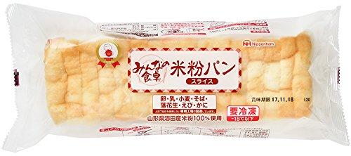 [冷凍] 日本ハム みんなの食卓R米粉パンスライス 340g