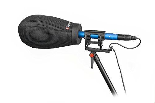 Rycote 033208 Super-Softie Kit, CMET microfoon, windbescherming en shockmount zwart