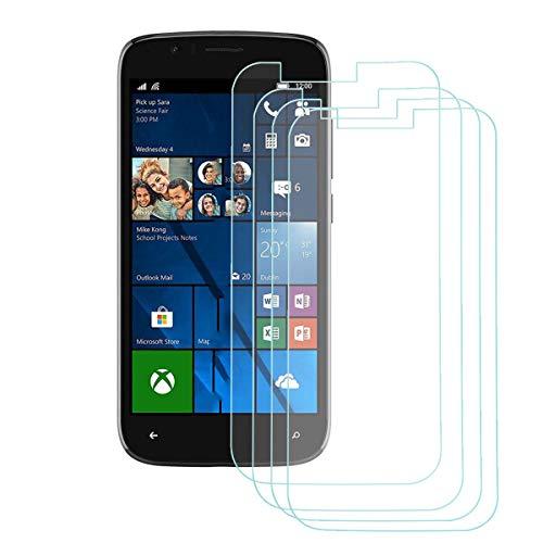 YZKJ 4 Stück Panzerglas Schutzfolie für Wileyfox Pro, 9H Festigkeit Ultra-klar Gehärtetes Glas Bildschirmschutzfolie,Anti-Öl Tempered Glass,HD Panzerglasfolie für Wileyfox Pro (5.0
