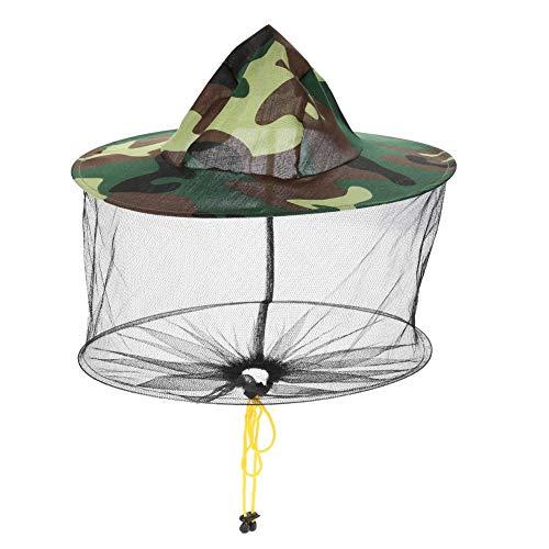 Nicoone Gorras de malla para sombrero, fáciles de poner y quitar de la red, ajuste cómodo, kit de camping para senderismo, camping, viajes, jardinería