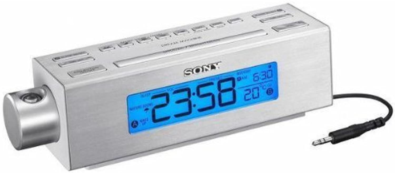NEW Sony Projection AM FM Clock Radio (Audio Video Electronics)