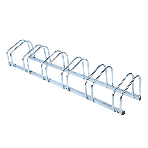 Zerone Bike Rack Floor, Stable Bike Floor Stand Bicycle Parking Rack Adjustable Holder Storage for Garages, Sheds, Workplace etc (#2)