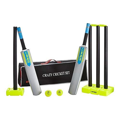 Super Cricket set, Komplett top-Spiel in top Tasche, 2 Kunststoffschläger
