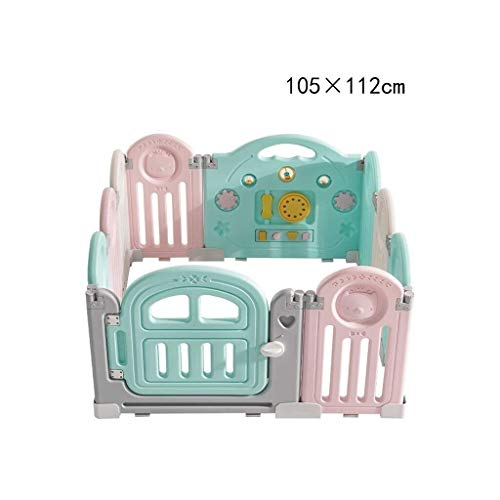 Amazing Deal Playpen Kids Baby Playpen Children's Play Fence with Activity Panels, Baby Indoor Prote...
